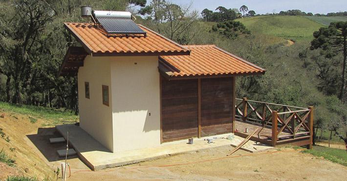 casa de madeira em gonçalves mg