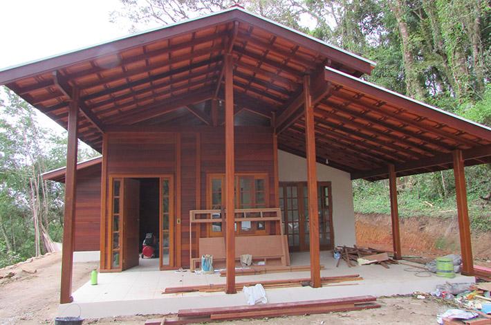 casa de madeira em Gonçalves – SP