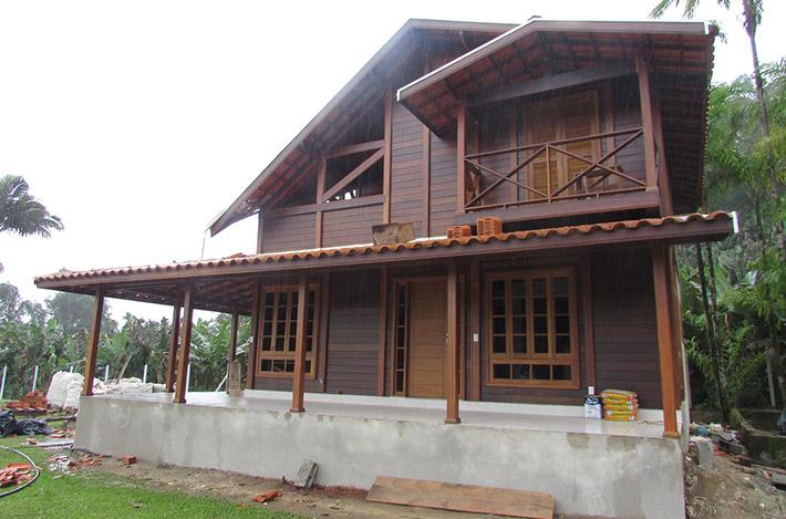 casa pré-fabricada em Itanhaém – SP