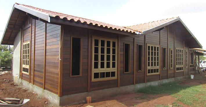 casa de madeira em Barretos – SP