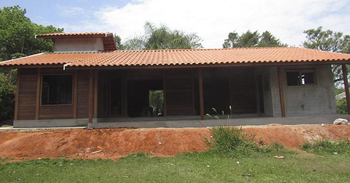 casa de madeira pré-fabricada em Campinas – SP
