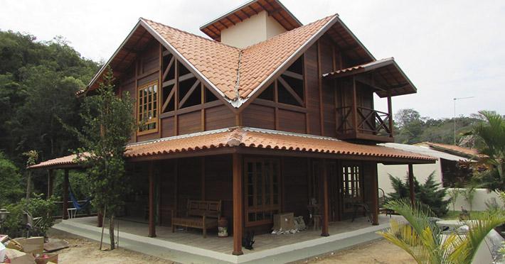 casa de madeira em Taubaté – SP