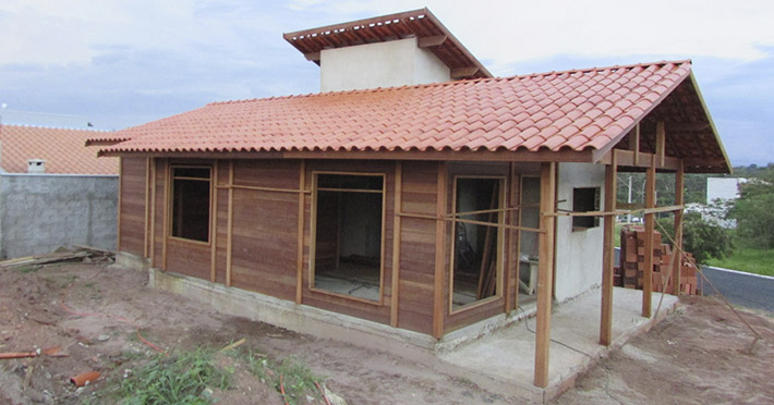 casa de madeira maciça em Patrocínio Paulista – SP