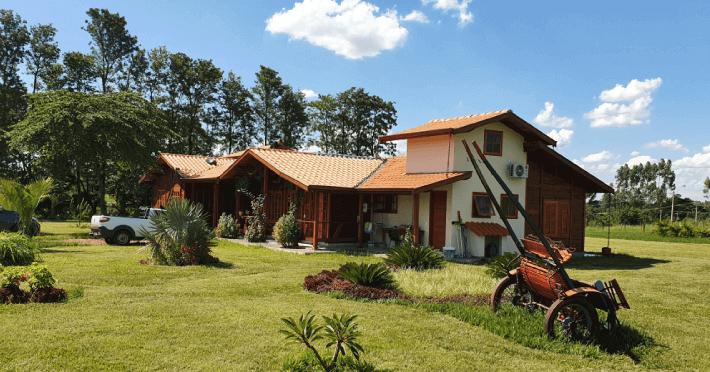 casa de madeira suite master