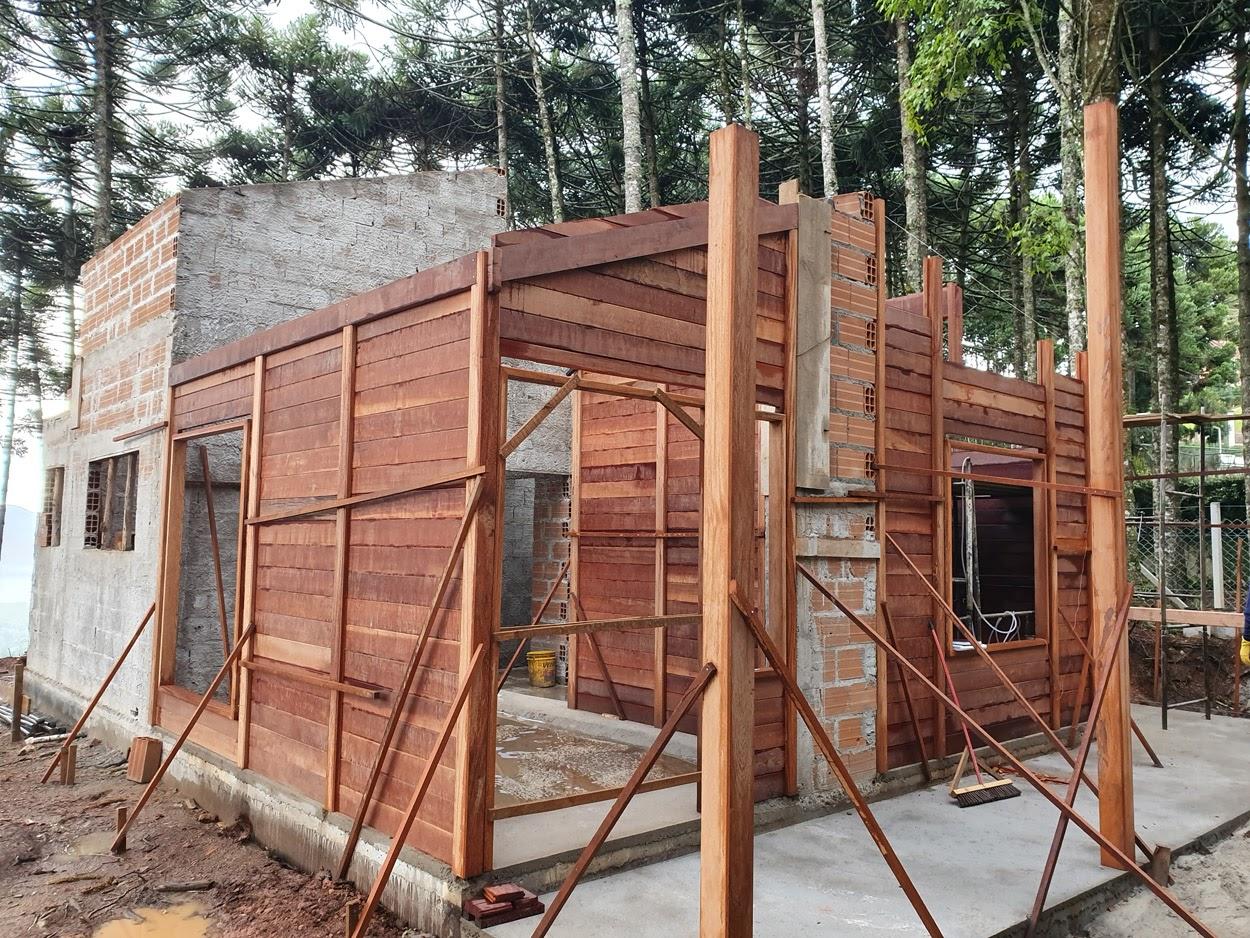 Projeto de 77,61m² com execução em Monte Verde - MG