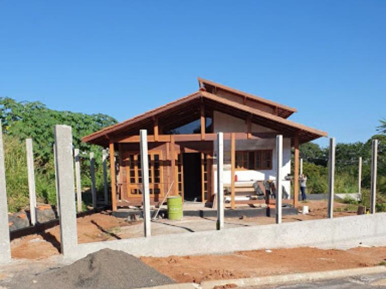 Projeto de 90,46m² com execução em Patrocínio Paulista - SP