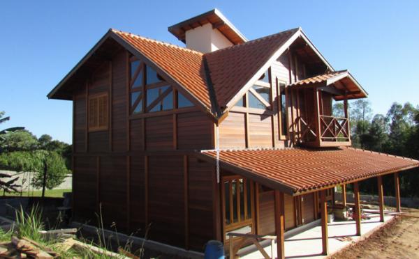 telhados brasil casas de madeira