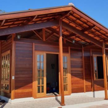 obras agosto brasil casas de madeira