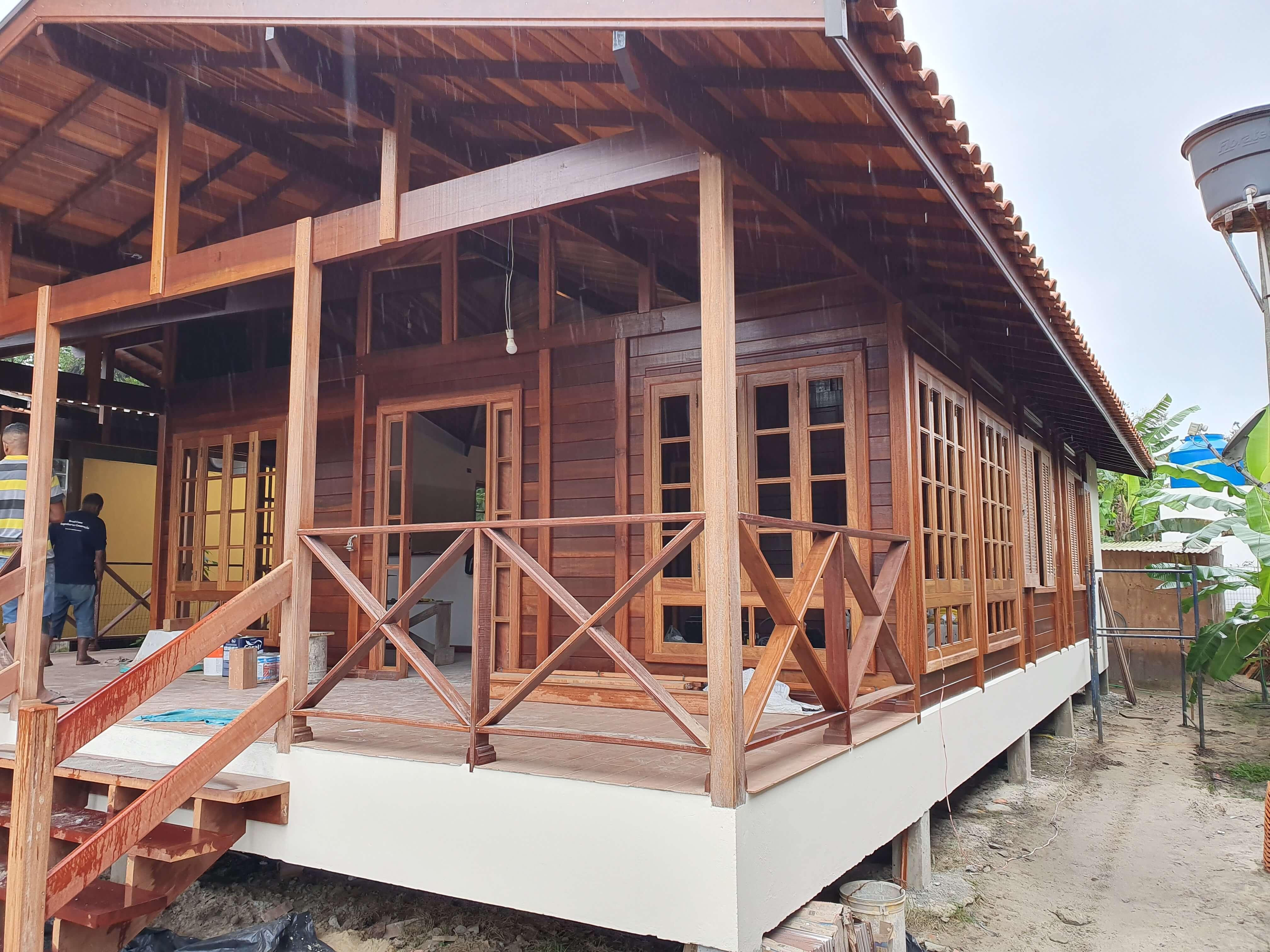 Projeto de 114,49m² com execução em Ubatuba - SP