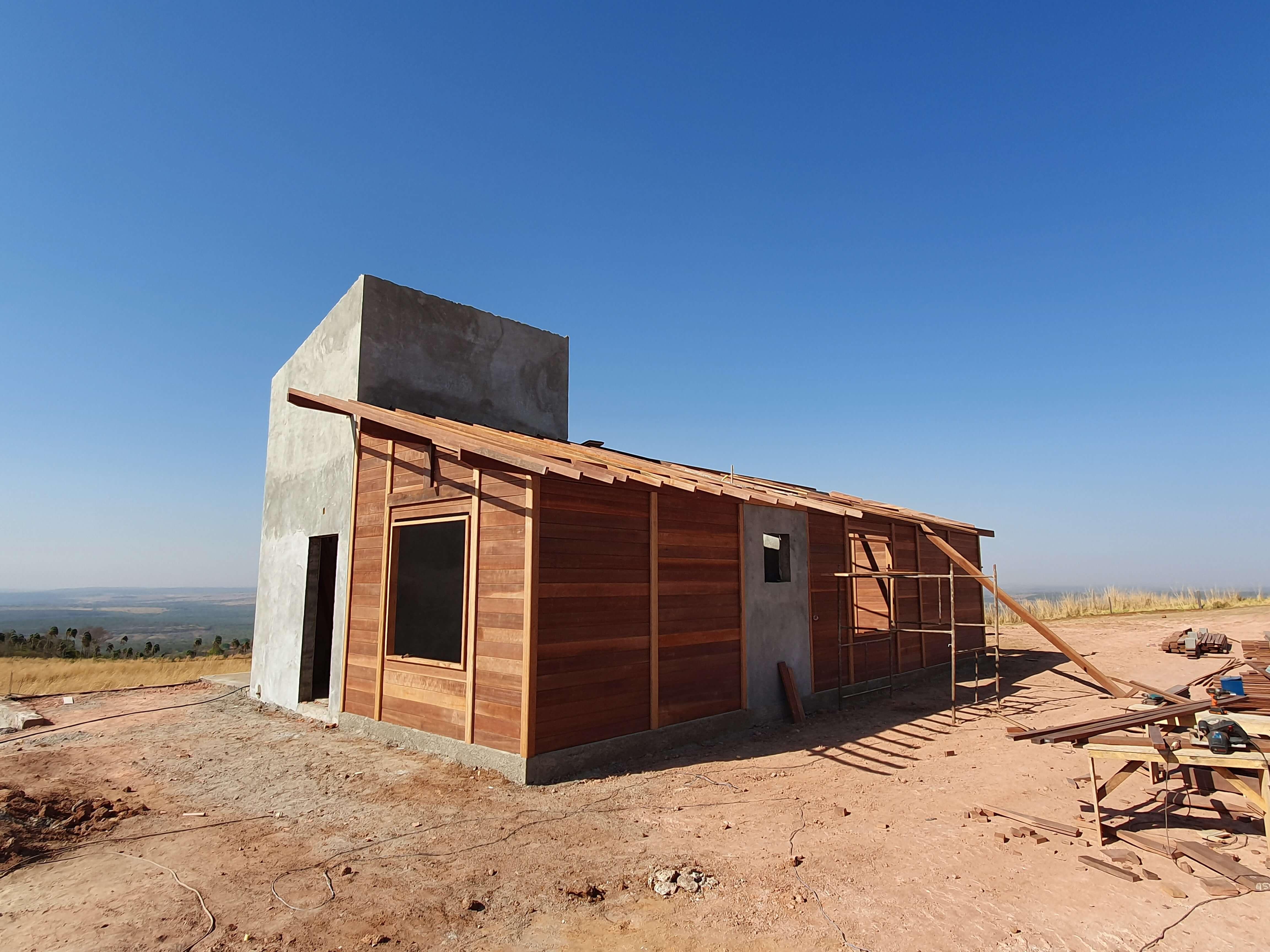 Projeto de 138,54m² com execução em Jataí - GO