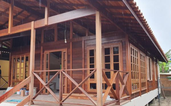 obras modelos brasil casas de madeira