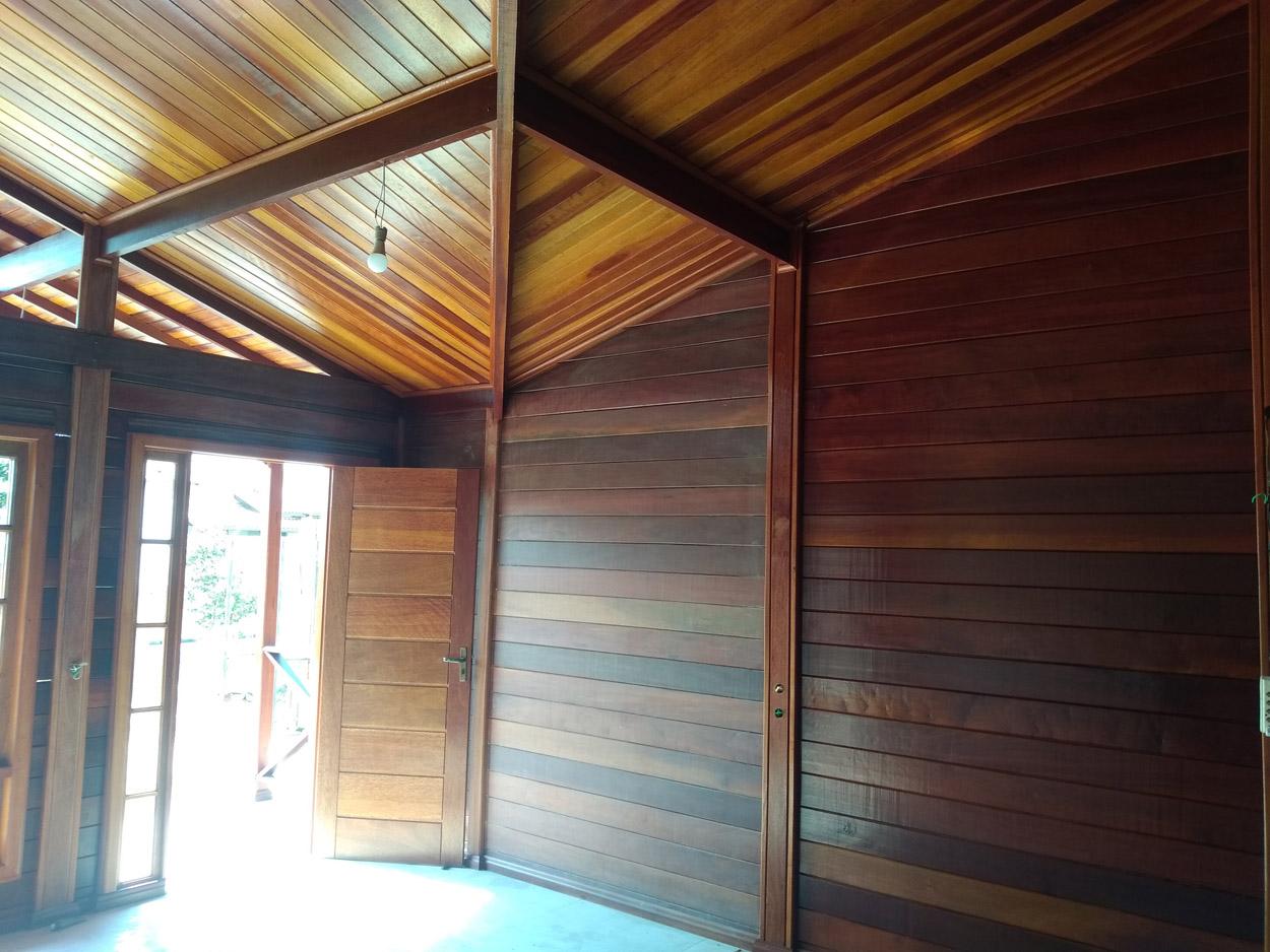 projeto casa de madeira Holambra-SP
