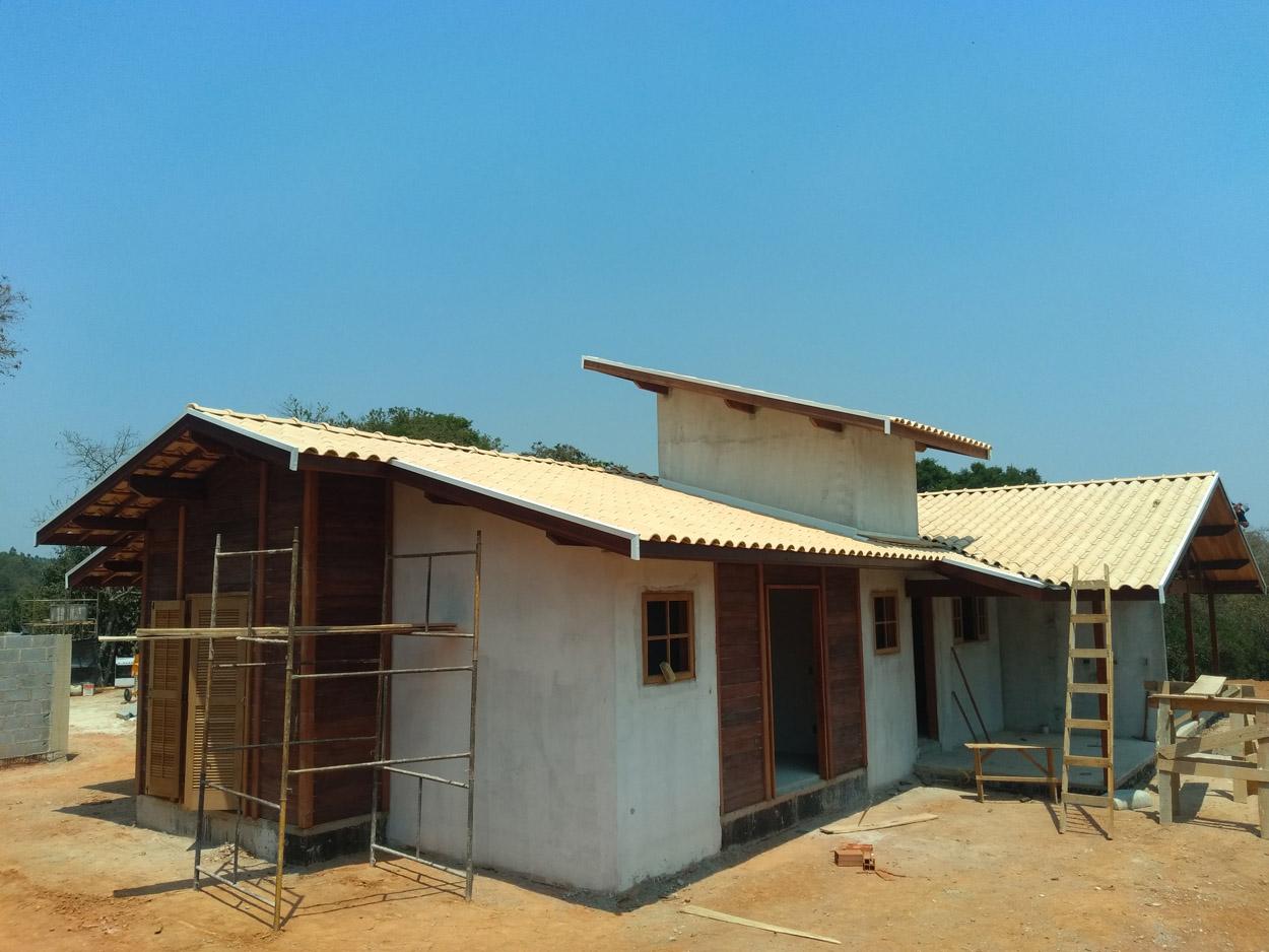 projeto casa de madeira Pinhalzinho-SP