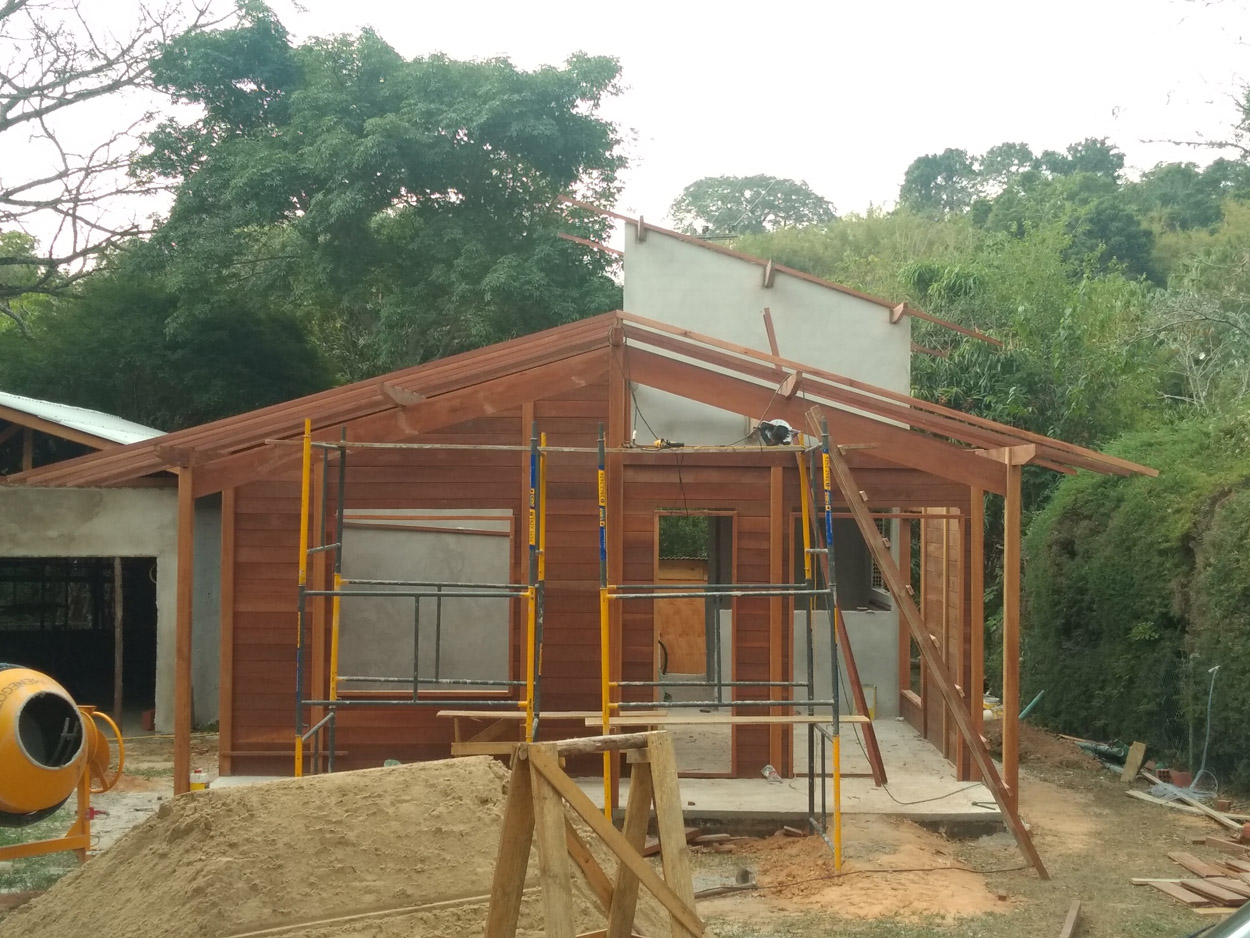 projeto casa de madeira Serra Negra-SP