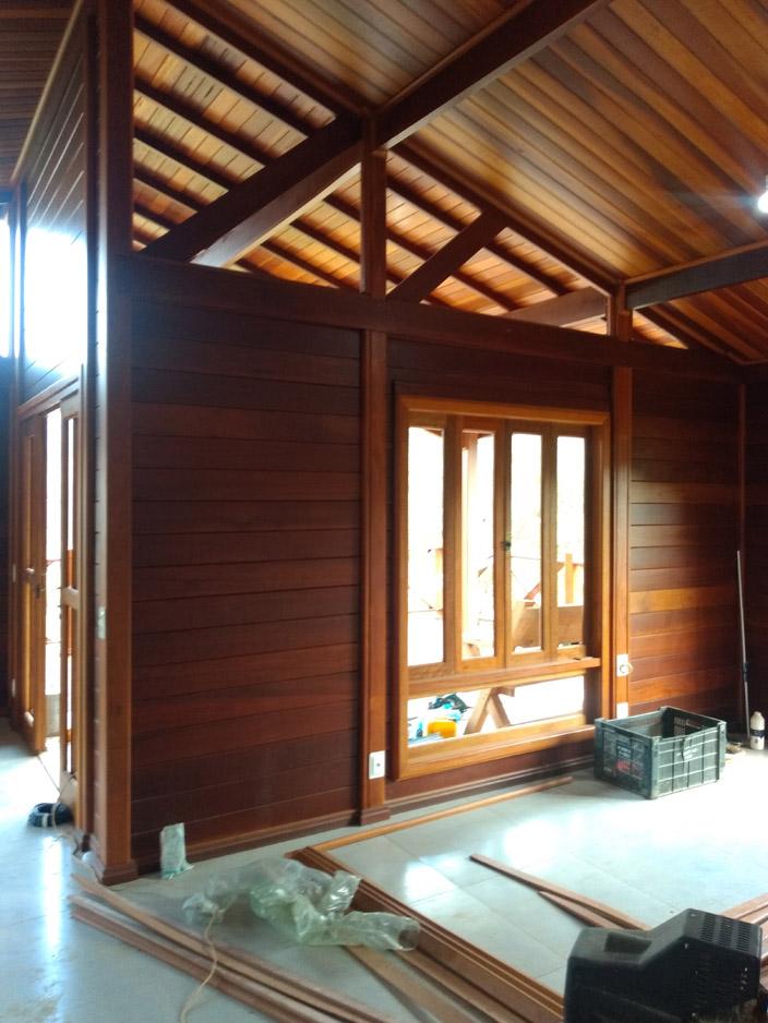 projeto casa de madeira Sapucaí Mirim-MG