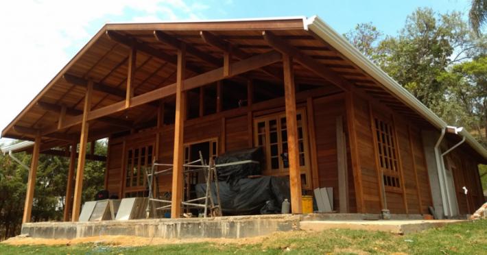 processo de construcao brasil casas de madeira