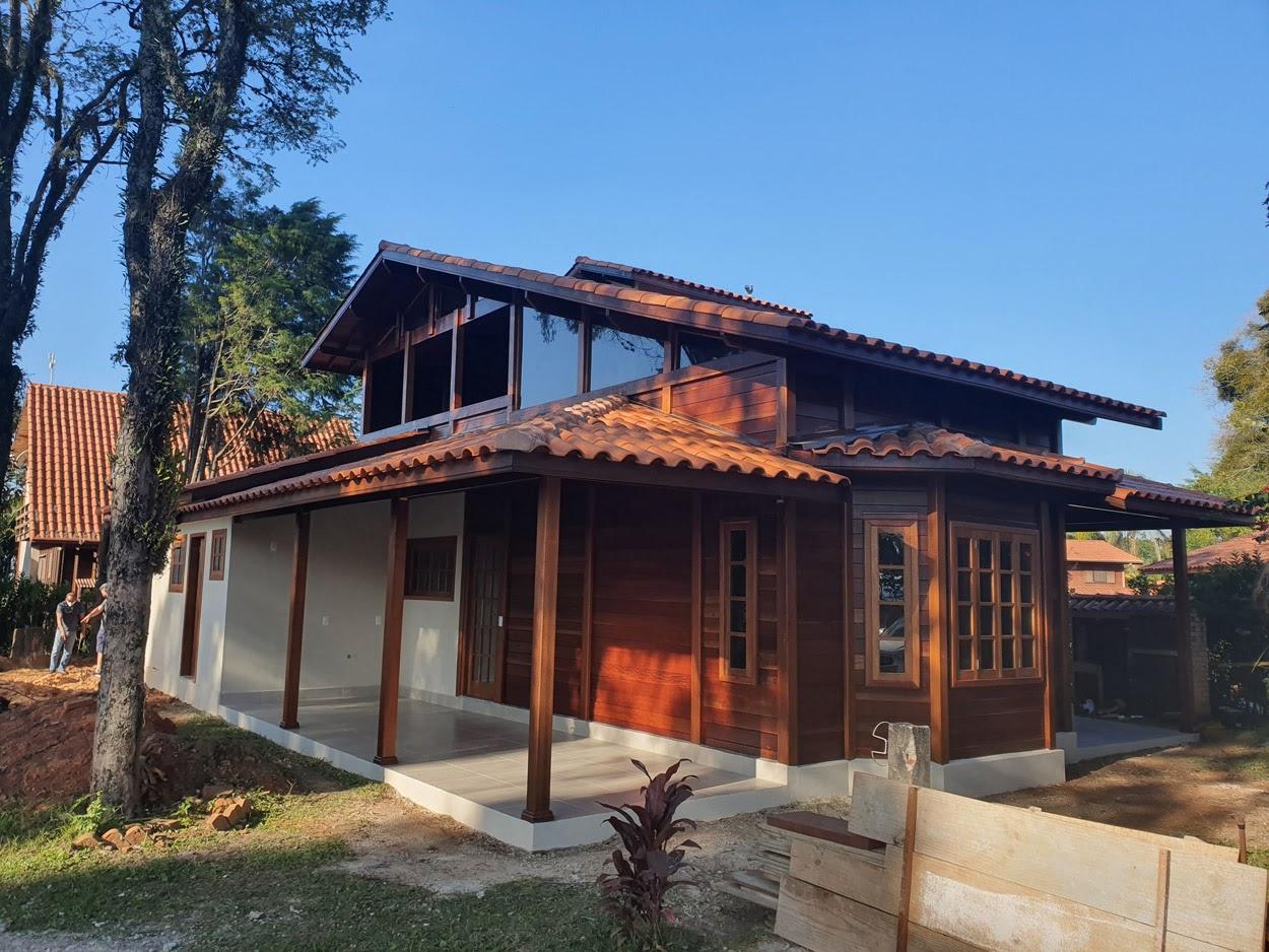 projeto casa de madeira