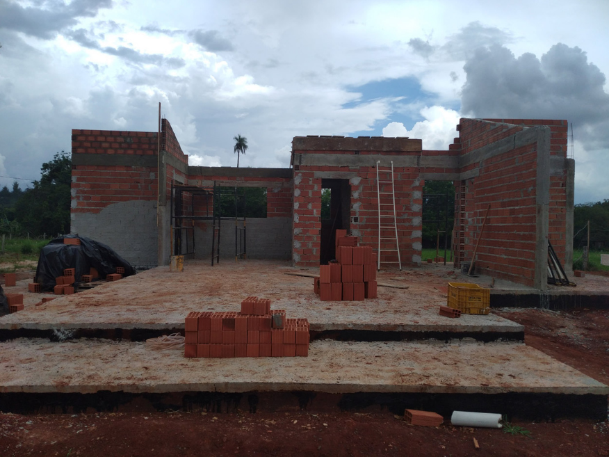 casa de madeira etapa construcao e cobertura itu - sp