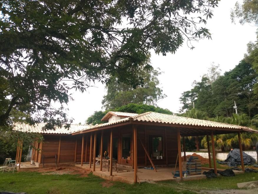 cada de madeira etapa instalacao eletrica e hidraulica taubate - sp
