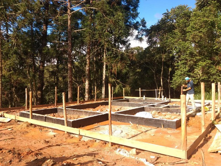 Projeto Santo Antônio do Pinhal etapa fundação