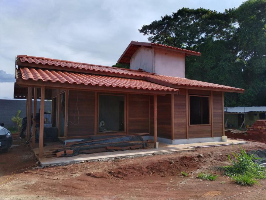 cada de madeira etapa instalacao eletrica e hidraulica cordeiropolis - sp