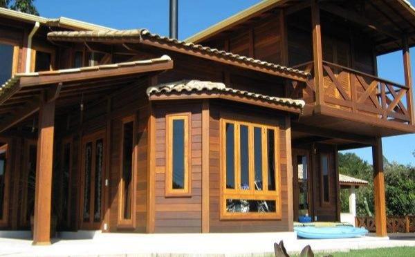Casa de Madeira Maciça como é feito o orçamento do projeto