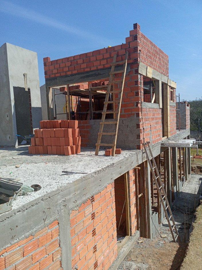 Projeto de 123,57m² com execução em Piracicaba – SP