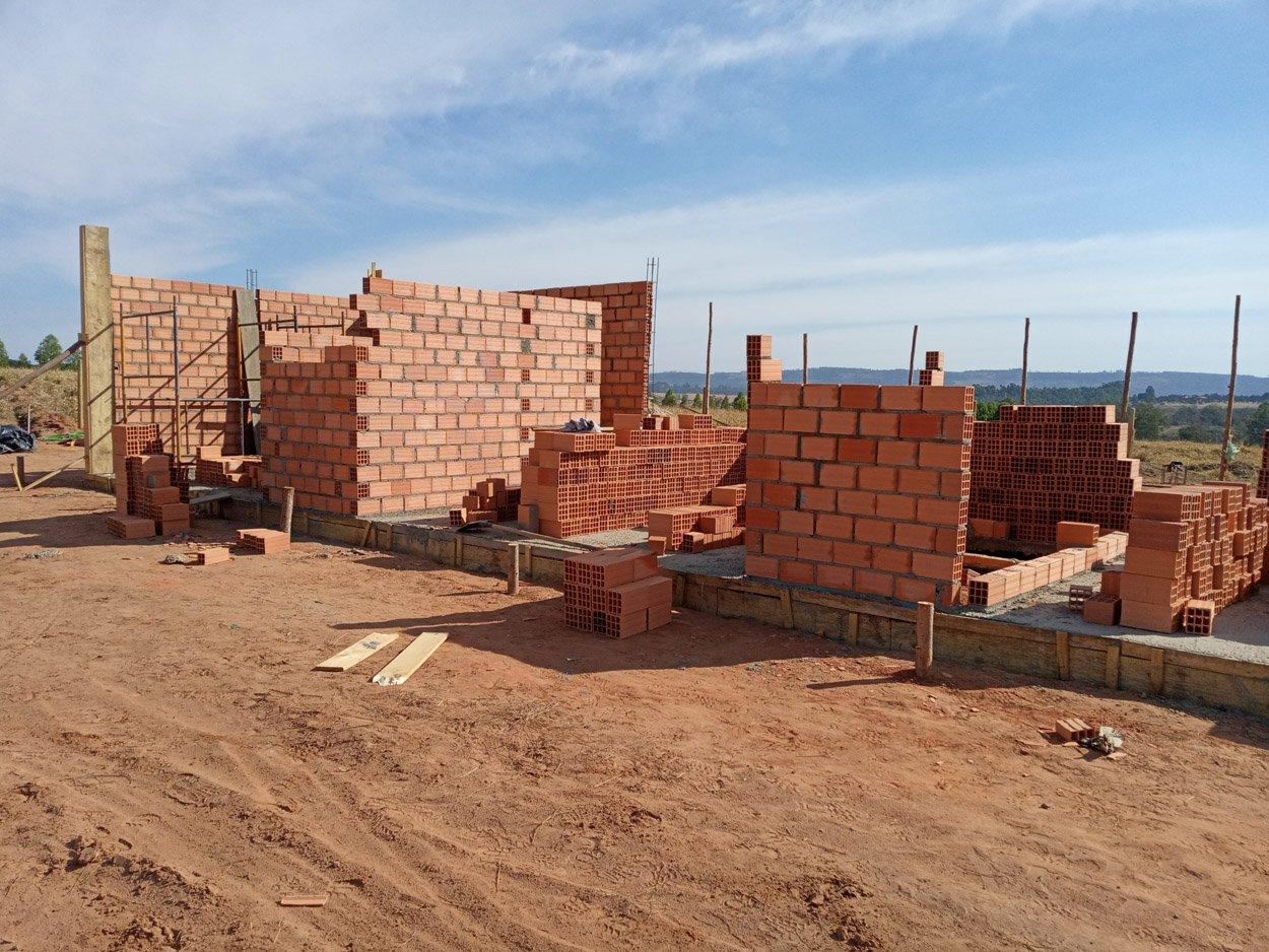 Projeto de 128,66m² com execução em Monte Santo de Minas - MG