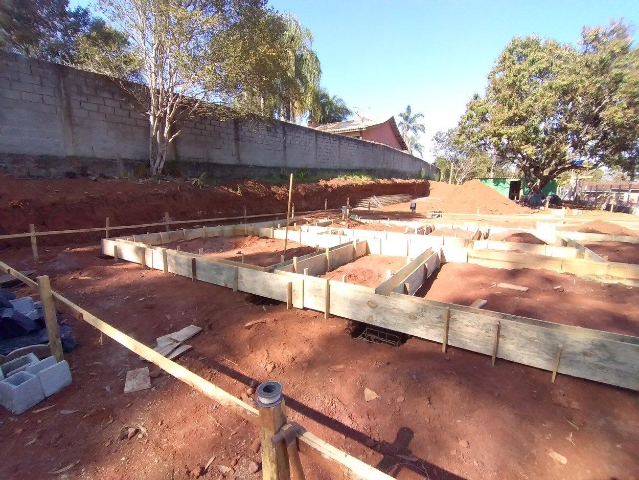 Projeto de 140,12 m² com execução em Atibaia - SP