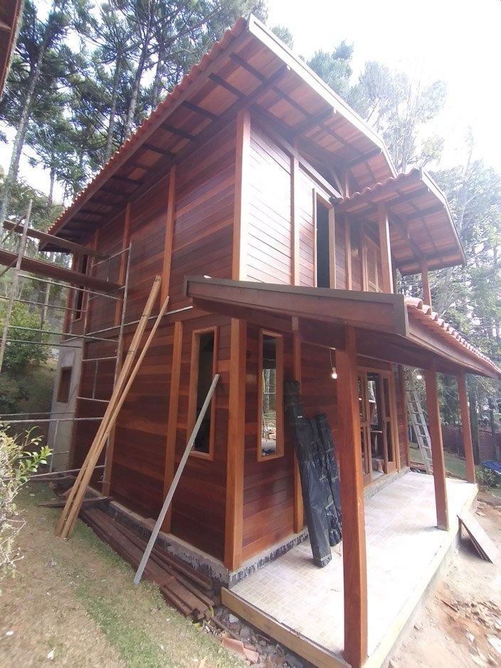 Projeto de 88,48m² com execução em Monte Verde - MG