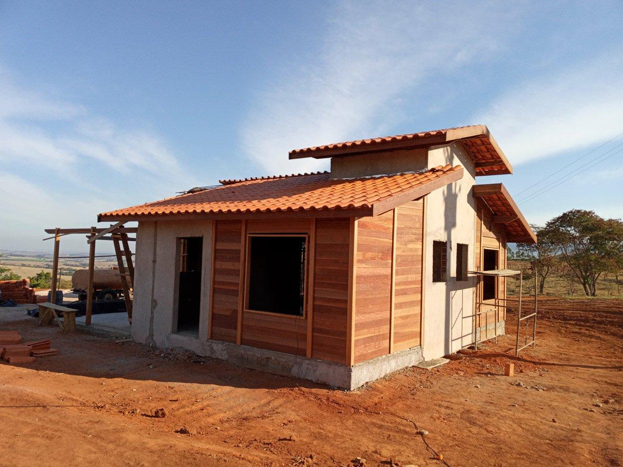 Projeto de 91,73m² com execução em Monte Santo de Minas - MG