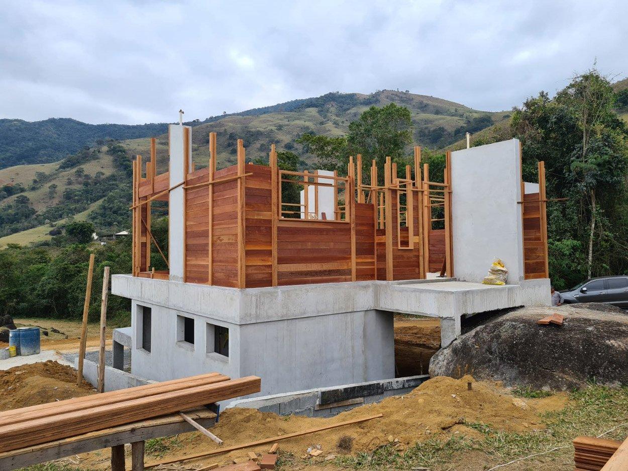 Projeto de 93,09m² com execução em Monteiro Lobato – SP