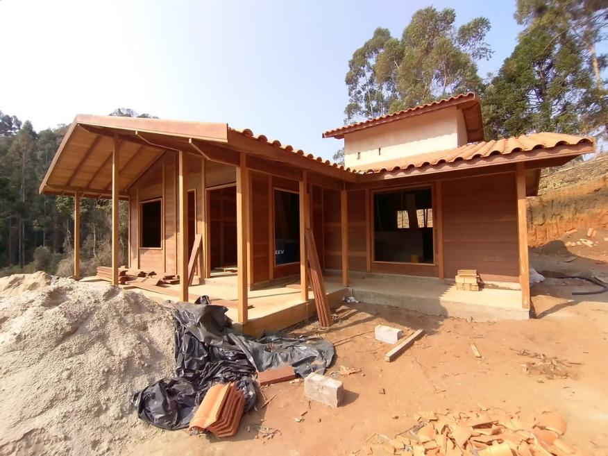 Projeto de 113,65m² com execução em Camanducaia - MG