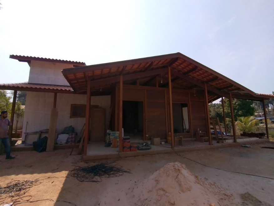 Projeto de 134,53m² com execução em Pedreira - SP