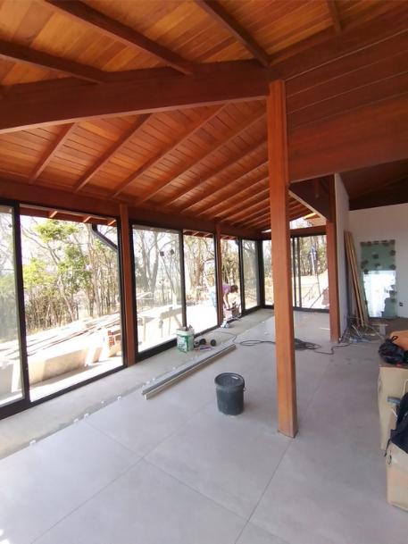Projeto de 137,89m² com execução em Monte Alegre do Sul - SP